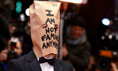 Shia LaBeouf: we prefer stars to leave their brown paper baggage at home