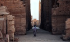 Empty Karnak temple in Luxor