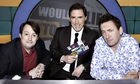 David Mitchell, Rob Brydon and Lee Mack on Would I Lie to You?