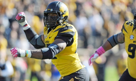 University of Maryland defensive end Michael Sam announced