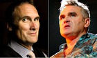 AA Gill and Morrissey