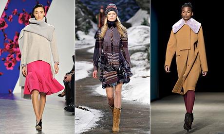 Winter fashion composite