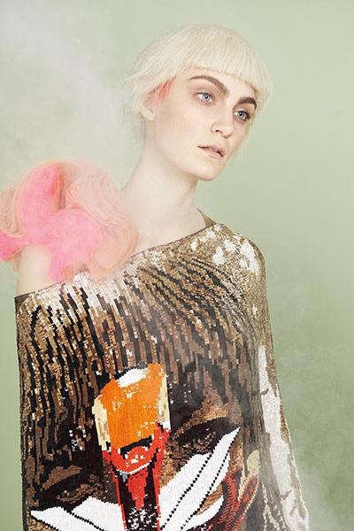 Art inspired fashion: Givenchy