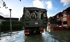 Fusiliers in Wraysbury