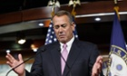 House Speaker John Boehner rallied 28 Republicans to vote in favour of the 'clean' bill.