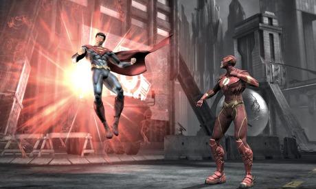 Injustice: Gods Among Us screenshot.