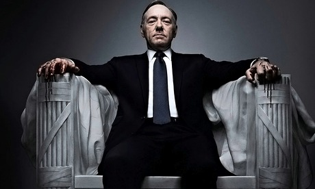 House of Cards fans settle in for one night of drama