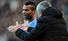 Roy Hodgson casts doubt on Ashley Cole's England future