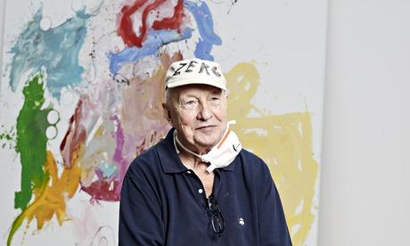 George Baslitz studio