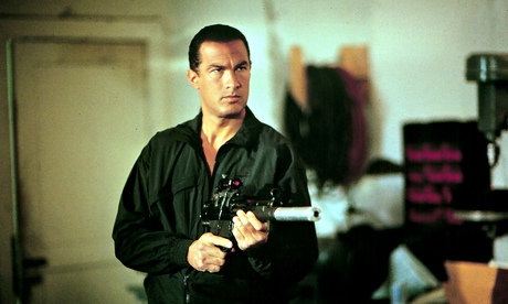 Terrorists… mess with this man: we dare you. Steven Seagal