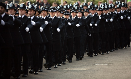 Police recruits Passing Out Ceremony at Hendon