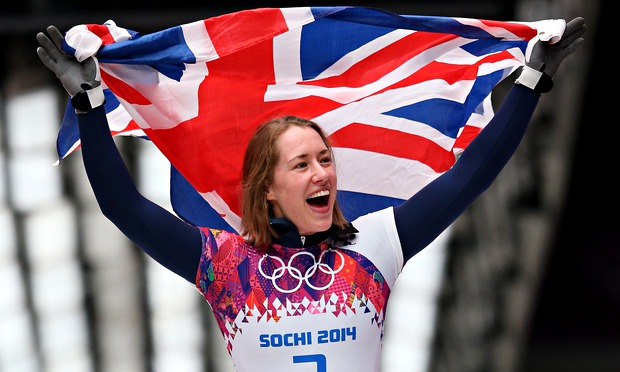 Lizzy Yarnold wins gold at Sochi