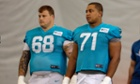 Miami Dolphins Richie Incognito and Jonathan Martin.