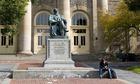 A student at Cornell University, New York
