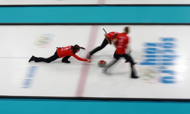 A bad day for the women too, as Muirhead and her team lost 6-8 to Switzerland.
