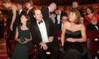 Prince William settles in for the Baftas