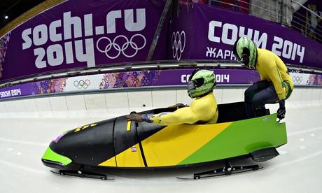 Jamaica-1 two-man bobsleigh