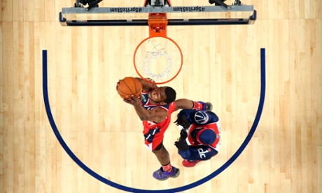 John Wall of the Washington Wizards did his best on Saturday to salvage what was otherwise a disappointing Slam Dunk Contest.