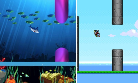 Flappy Bird clones are still flying onto the app stores.