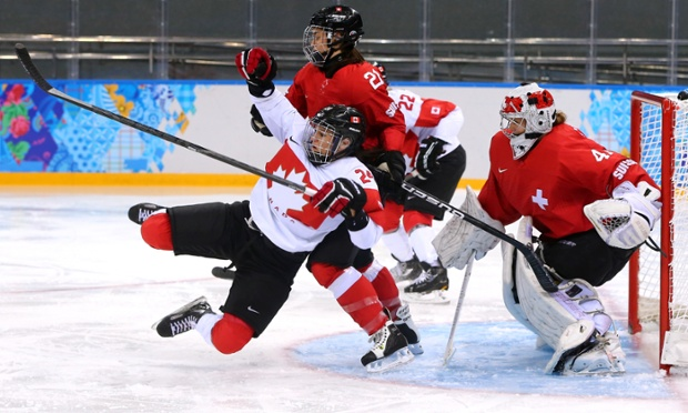 Olympic ice hockey: Switzerland 1-3 Canada – as it ...