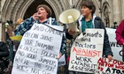 Work capability assessments protest