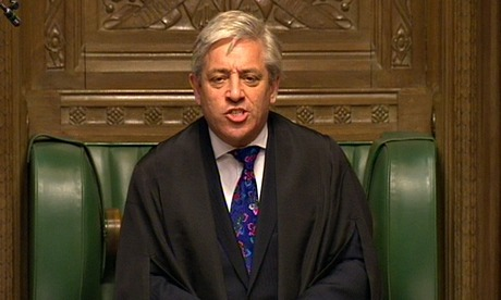 John Bercow urges reform of noisy PMQs