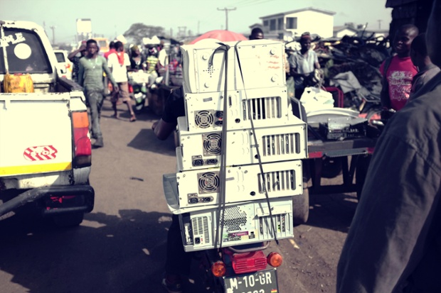 PCs and electronic devices that look in reasonable condition are sold untested in Accra .