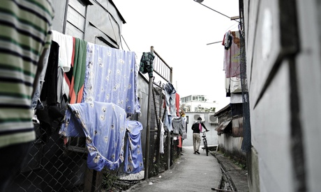 Hong Kong's dirty secret – asylum seekers forced to live in former pigshed