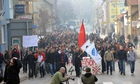 Protest in Tuzla