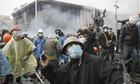 protesters Ukraine