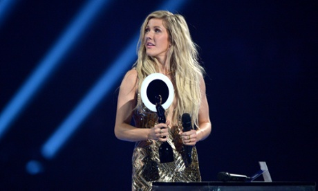 Ellie Goulding wins British Female Solo Artist.