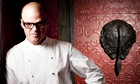 Heston Blumenthal photographed at Dinner
