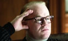 "Philip Seymour Hoffman portrays author Truman Capote his Oscar winning role in a scene from the film ""Capote."""