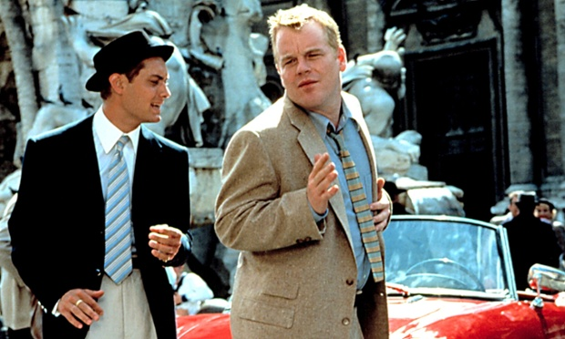 Jude Law with Philip Seymour Hoffman in The Talented Mr Ripley (1999)