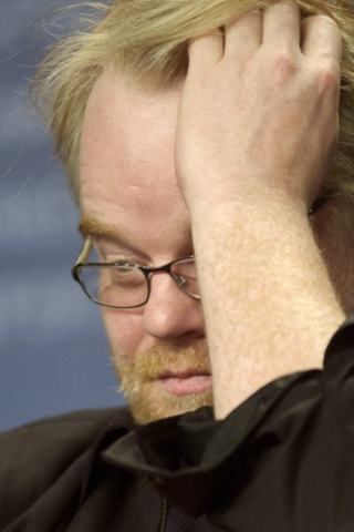 Philip Seymour Hoffman during a photocall for Capote at the 56th Berlinale film festival in 2006