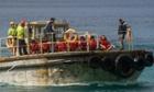 Asylum seekers arriving by boat Christmas Island