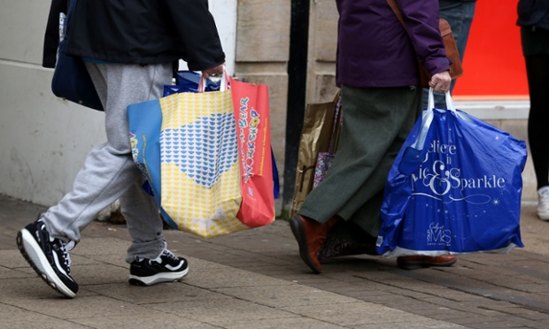 Retail sales are expected to fall after a post Christmas boom.
