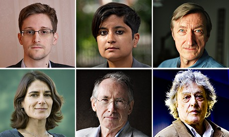 On Liberty: Edward Snowden and top writers on what freedom means to them