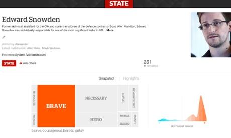 State on Snowden