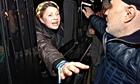 Yulia Tymoshenko freed, leaving hospital