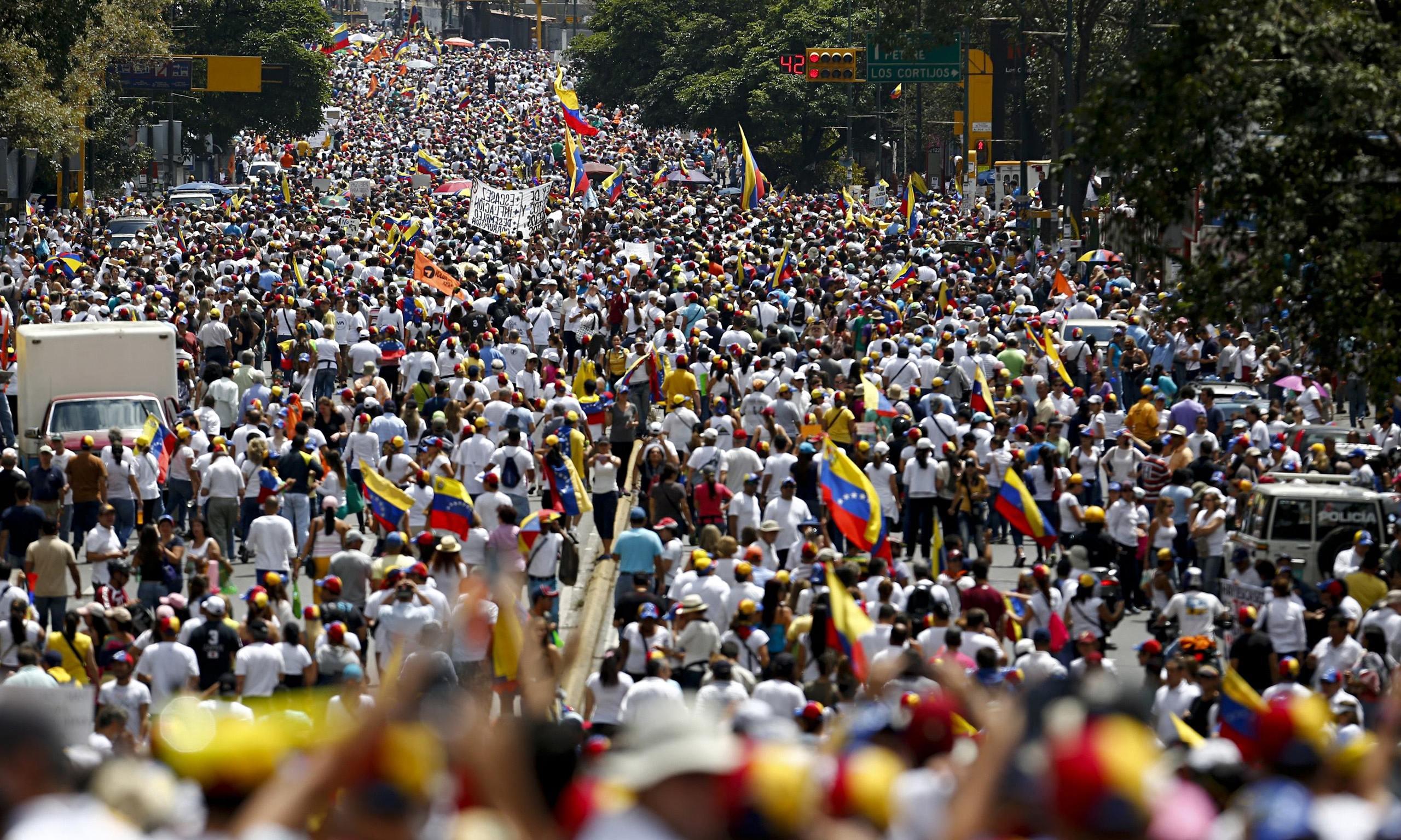 Venezuelans On Streets Again As Protest Leader Awaits