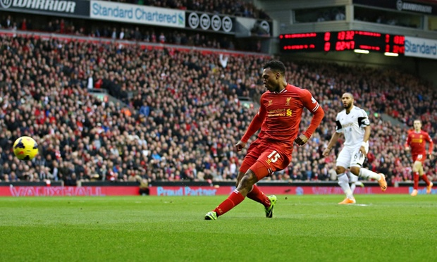 Liverpool v Swansea City - live! | Nick Miller | Football | The.