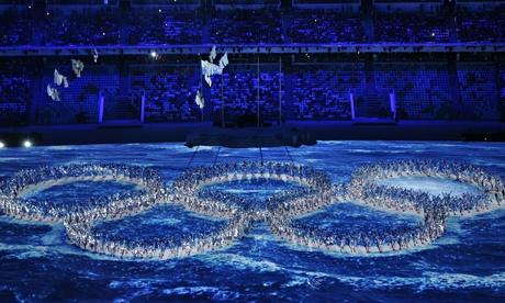 Видео: Лучшие моменты закрытия XXII Зимних Олимпийских Игр в Сочи 2014 г.