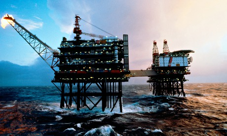 north sea oil