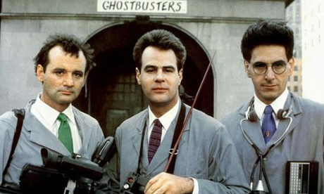 Bill Murray, Dan Ackroyd and Harold Ramis in Ghostbusters