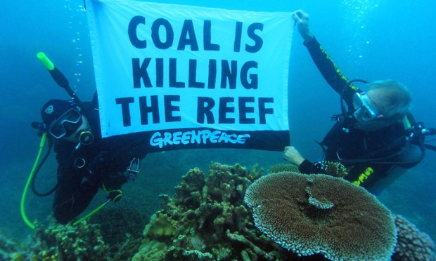 Great Barrier Reef contaminated by toxic coal dust, inquiry told