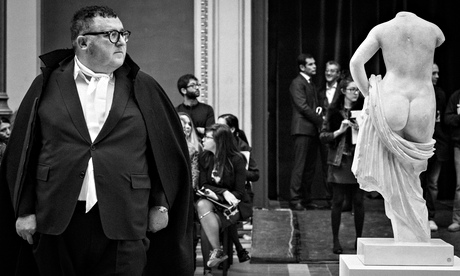 Alber Elbaz of Lanvin at the Ecole aux Beaux Arts in Paris