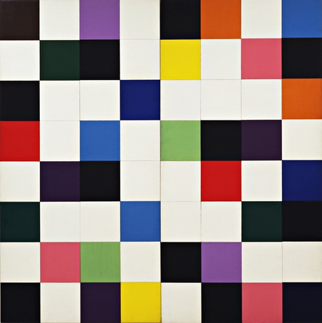 Ellsworth Kelly's Colors for a Large Wall, 1951