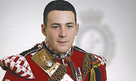Lee Rigby, who had served in Afghanistan, was run down in a Woolwich street and viciously attacked by Adebolajo and Adebowale. Photograph: AP