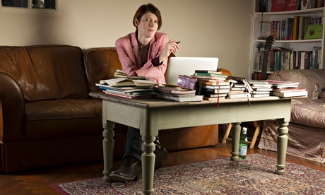 Writer Joanna Kavenna at her home near Oxford